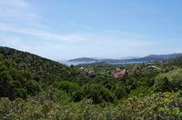 Aussicht auf die Tuerredda Bucht - Sardinien