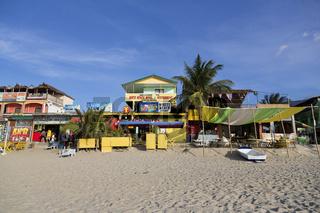 The White Beach near Puerto Galera on Mindoro Island