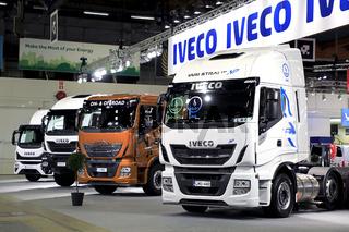Iveco Stand at Transport-Logistics 2019, Helsinki Finland