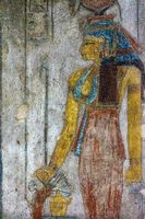 Ancient egypt image of Queen Cleopatra