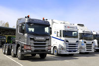 Next Generation Scania Trucks, Transport-Logistics 2019