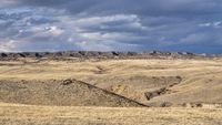 rolling prairie in northern Colorado