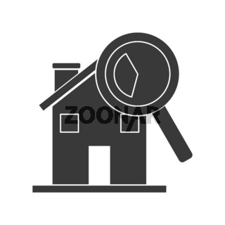 House Inspection Icon Vector