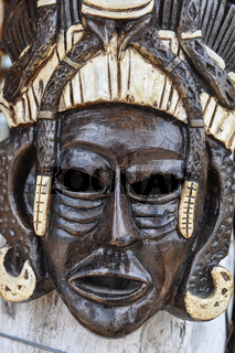 Mayan Wooden Mask for Sale