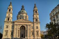 St. Stephen's Basilica - a Roman Catholic Cathedral in Budapest, Hungary.