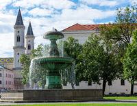 Fountain at the Munich University