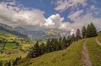 Bei Alt St. Johann, Säntis und Wildhuser Schafberg, Schweiz