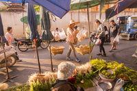 THAILAND CHIANG RAI CENTRAL MARKET STREET
