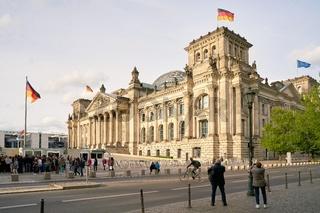 Reichstag im Zentrum von Berlin
