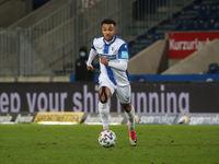 deutsch-kamerunischer Fußballer Leon Bell Bell 1.FC Magdeburg DFB 3.Liga Saison 2020-21