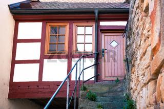 Old timber framed house