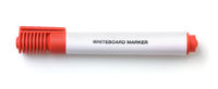 Whiteboard red marker pen