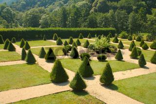 Schlossgarten, Bürresheim, Deutschland