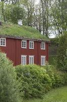 Holzhaus in Stiklestad