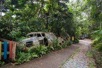 Kuranda Township in Queensland Australia