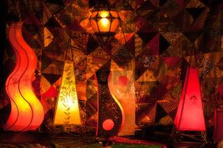 Orientalische Stehlampen