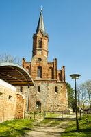 Klosterkirche Altfriedland, Brandenburg, Deutschland