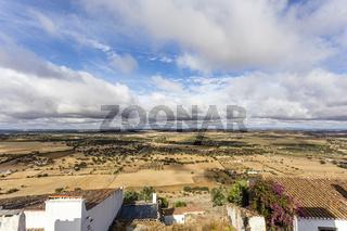 Landschaft bei Monsaraz, landscape near of Monsaraz, Alentejo, Portugal