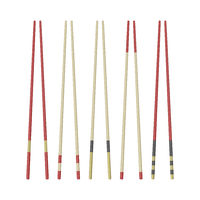 Collection of wooden chopsticks