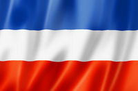 Slavic ethnic flag, Yugoslavia