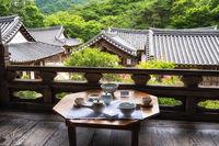 Seonamsa wild tea house