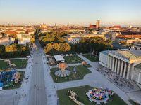 Open air festival at Koenigsplatz in Munich, Germany