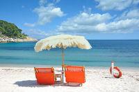 Strand auf der Insel Elba,Toskana,Mittelmeer,Italien