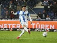 deutscher Fussballer Raphael Obermair 1.FC Magdeburg DFB 3.Liga Saison 2020-21