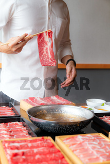 Shabu Shabu cooking