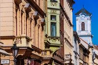 Famous Vaci street