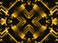 golden abstract shaped background