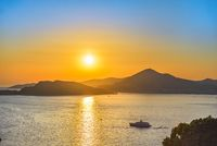 Sunset in Montenegro