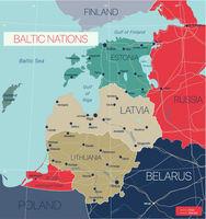 Baltic nations region