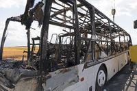 Autobus Cabin Fire