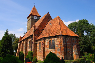 Rügen-Kirche St. Katharina in Middelhage