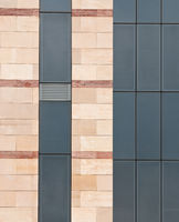 Office building exterior abstract details