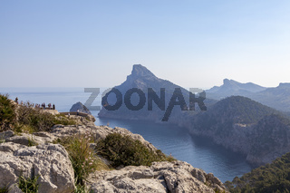Blick vom Mirador Punta de la Nao, Mallorca