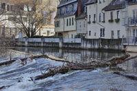 Die Nahe in Bad Kreuznach