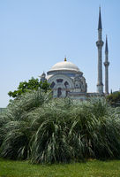 The Dolmabahсe Mosque. Istanbul. Turkey