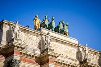 Triumphal Arch of the Carrousel, Paris, France