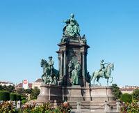 Monument to Austrian empress Maria Theresa in Vienna