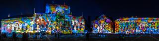 Festival of lights 2020. Berlin. Germany