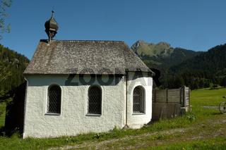 Bergkapelle im Tannheimer Tal