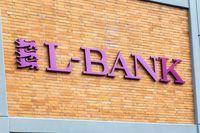 Logo and Lettering of Landesbank Baden-Württemberg, LBBW, Germany's biggest state-backed landesbank lender. Germany