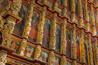 Icons in the Cathedral of the Ryazan Kremlin - Russia