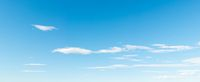 Panoramic blue sky background
