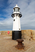 lighthouse of St. Ives