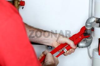 Rohrleitung reparieren