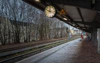 Bahnhof in Berlin