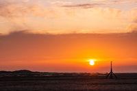 Oranger Sonnenuntergang am Meer-2.jpg